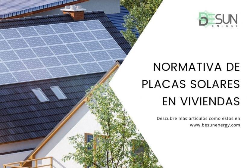 Normativa de Placas Solares en Viviendas