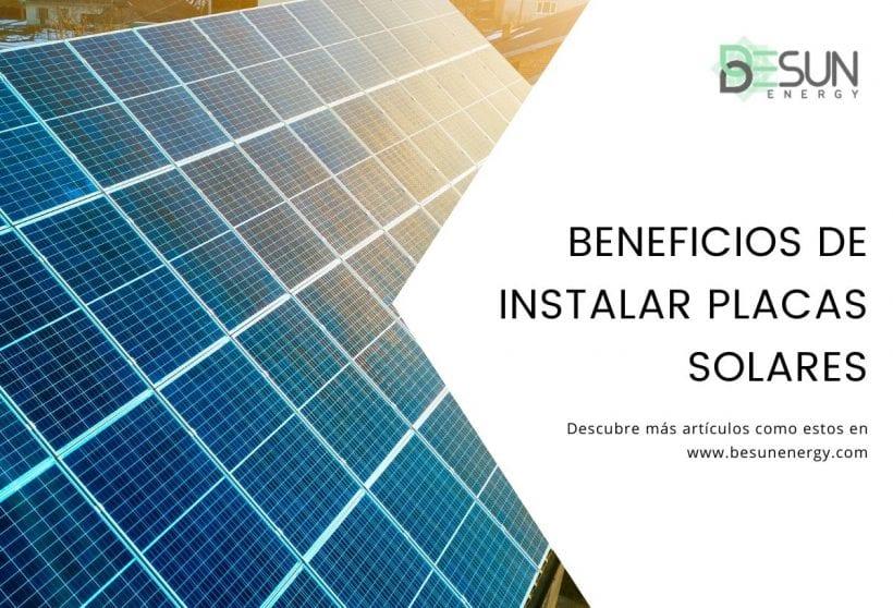 Beneficios de instalar placas solares en tu empresa