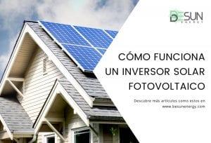 cómo funciona un inversor solar